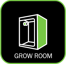 icon of a grow tent